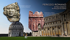 Pisa, in Piazza dei Miracoli Wearable Augmented Reality in world première