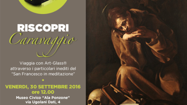 New eyes to discover Caravaggio with ARtGlass. Soon at Cremona City Museum