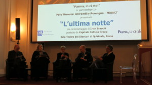 """The last night"", the short movie based on the Chamber of St. Paul in Parma presented in Rome"
