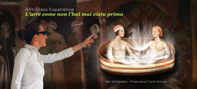 New ARtGlasses in San Gimignano Civic Museums