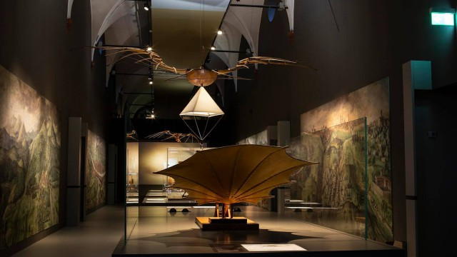 LEONARDO DA VINCI GALLERIES BIG OPENING IN PATRNERSHIP WITH CAPITALE CULTURA